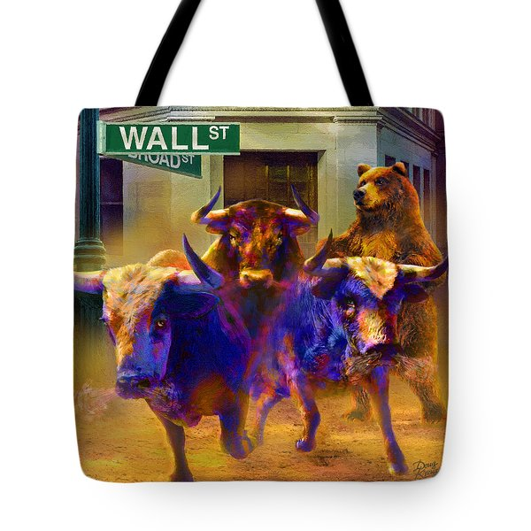Wall Street Il Tote Bag by Doug Kreuger
