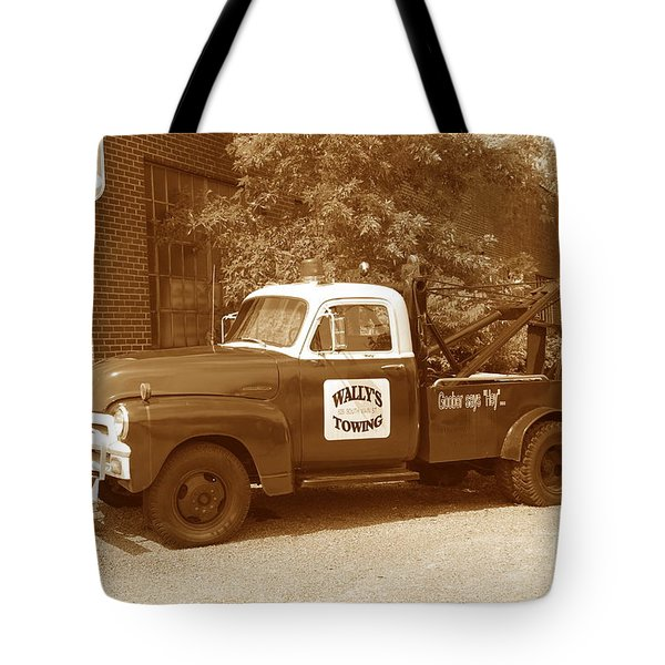 Tote Bag featuring the photograph Wally by Eric Liller