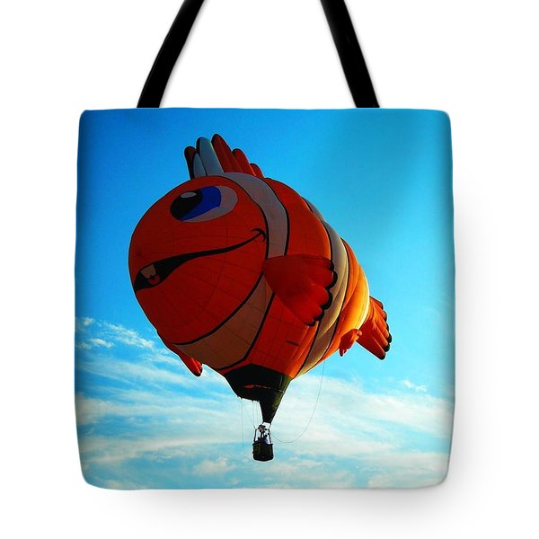 Wally The Clownfish Tote Bag by Juergen Weiss