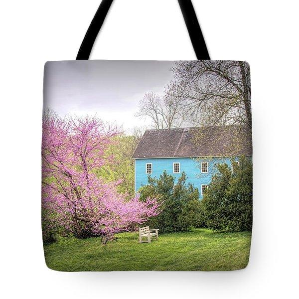 Walnford In Spring Tote Bag