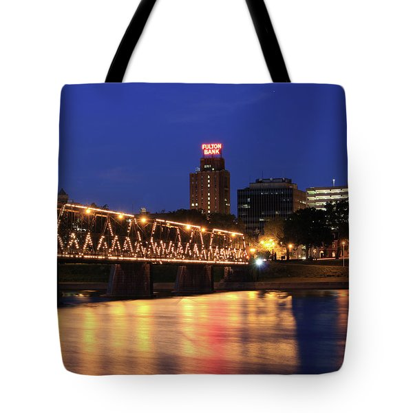 Walnut Street Bridge Tote Bag