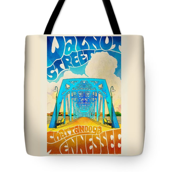 Walnut Street Poster Tote Bag