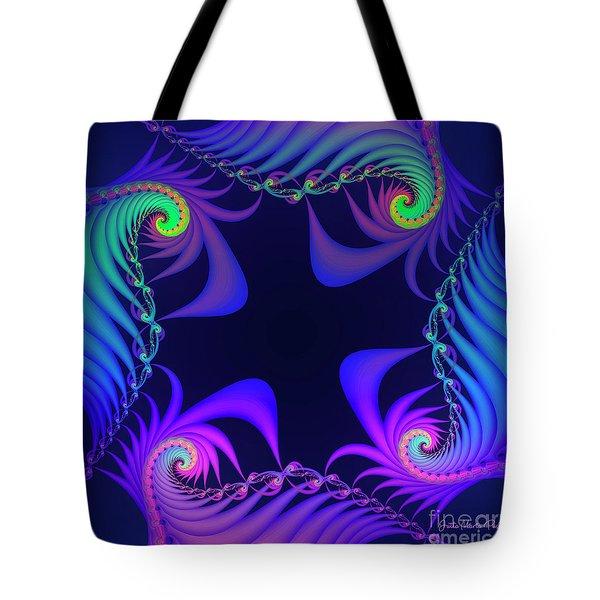 Tote Bag featuring the digital art Walpurgis Night by Jutta Maria Pusl