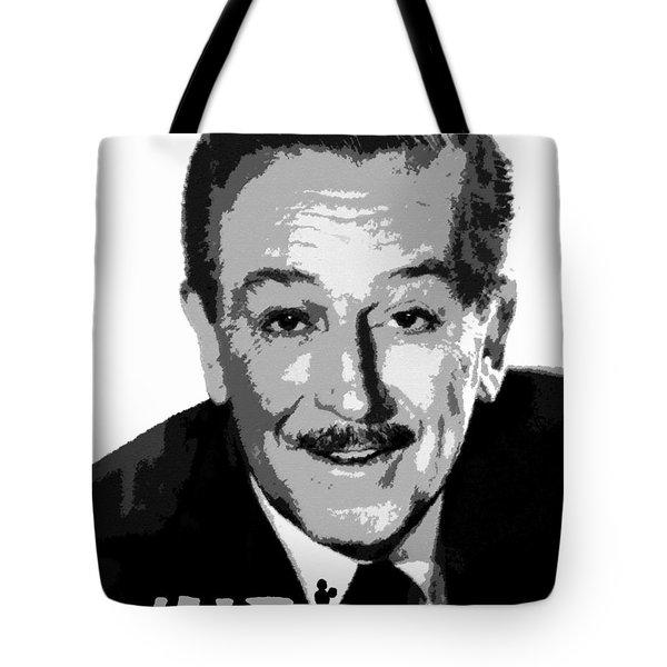 Walt Tote Bag by David Lee Thompson