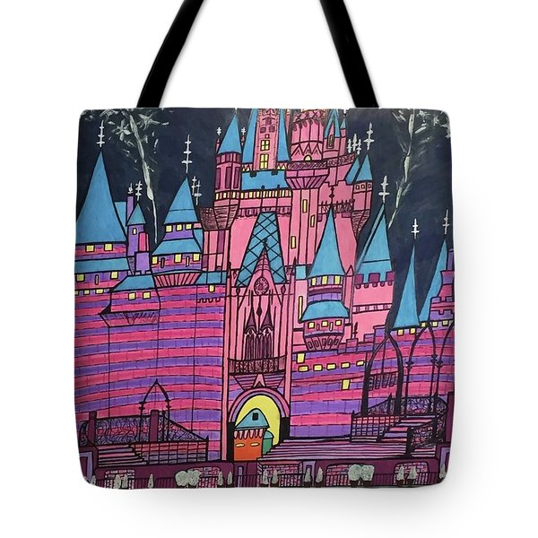 Walt Disney World Cinderrela Castle Tote Bag