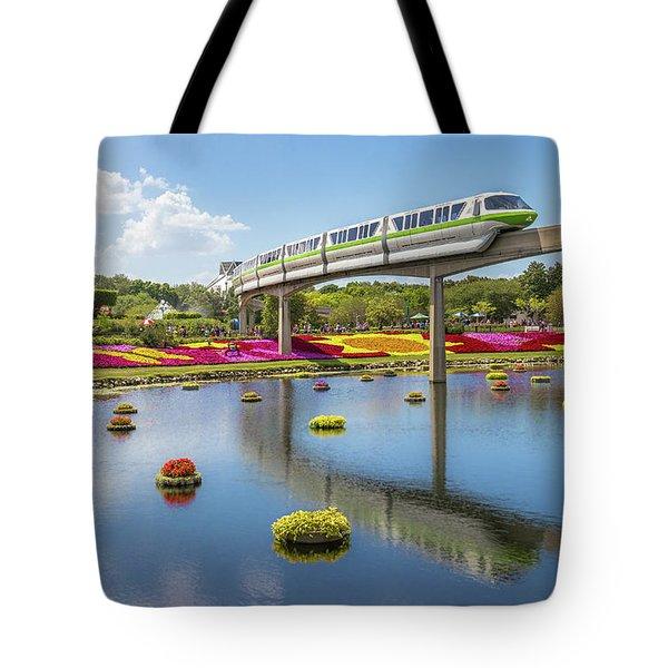 Walt Disney World Epcot Flower Festival Tote Bag