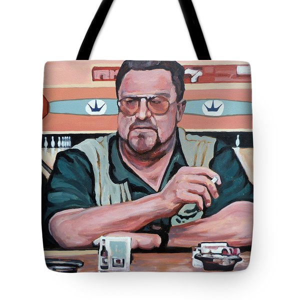 Walter Sobchak Tote Bag by Tom Roderick