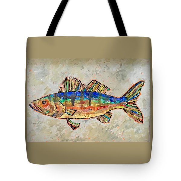 Walter The Walleye Tote Bag