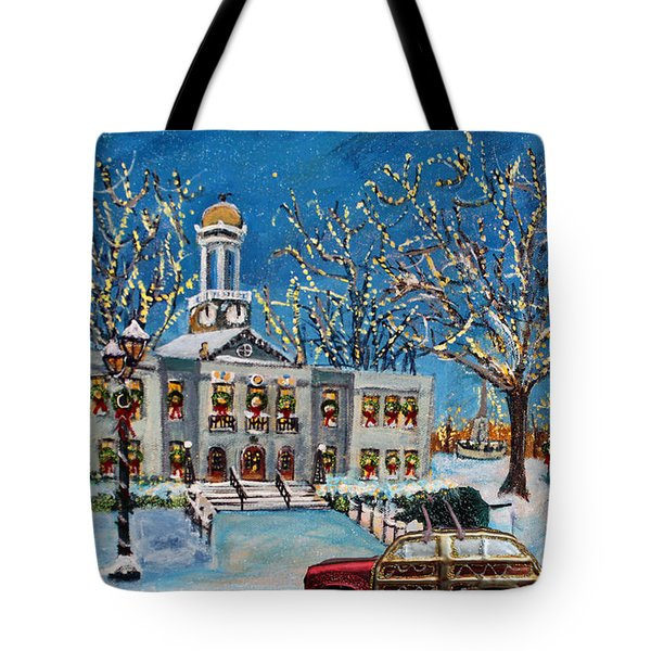 Waltham Common Shimmering Tote Bag by Rita Brown