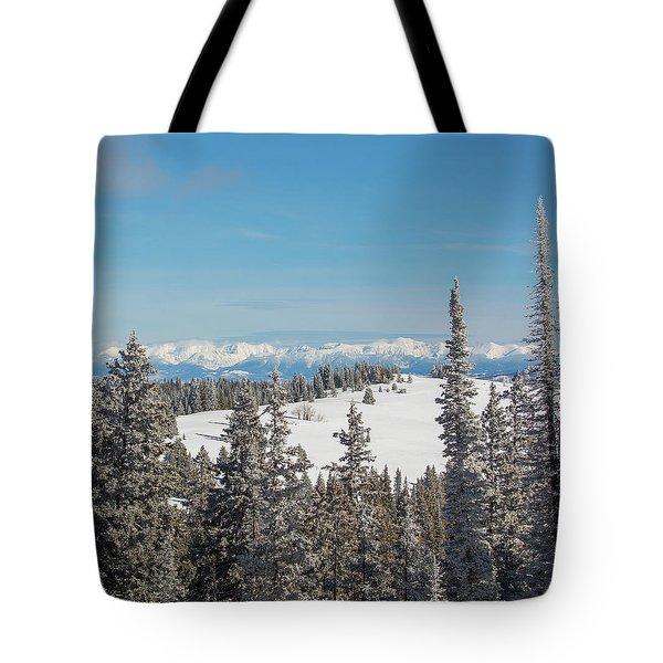 Walton Peak  Tote Bag