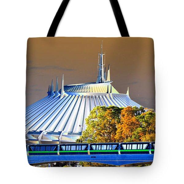Walts Modern Vision Tote Bag by David Lee Thompson