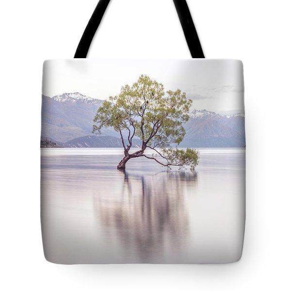 Wanaka Tree Tote Bag by Racheal Christian