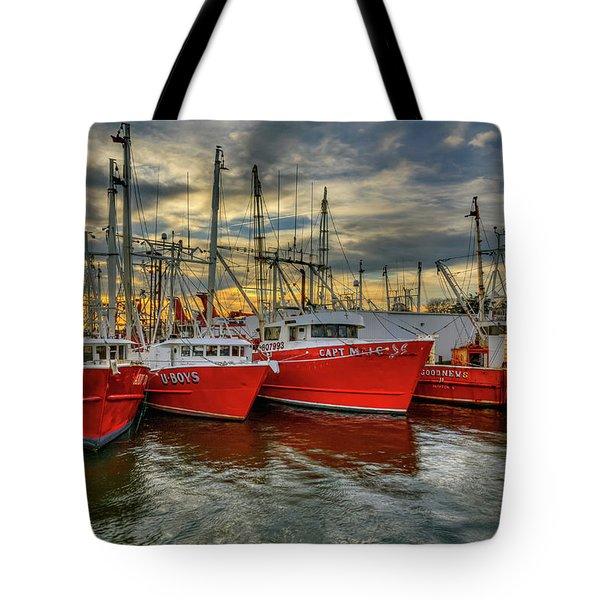 Wanchese Fleet Hampton Tote Bag