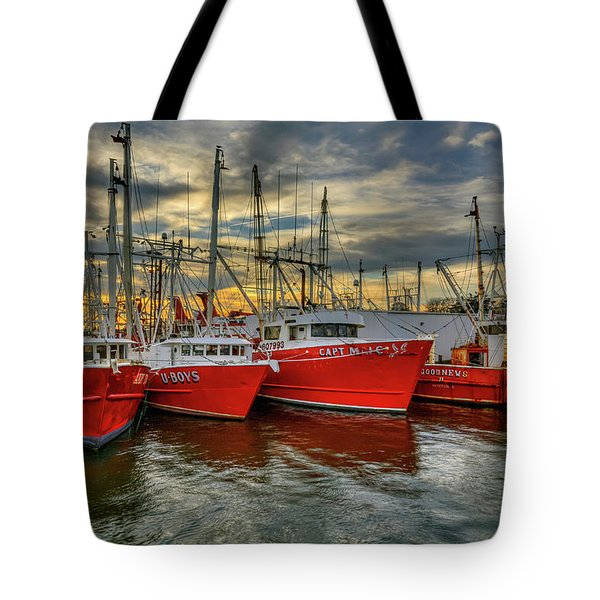Wanchese Fleet Hampton Tote Bag