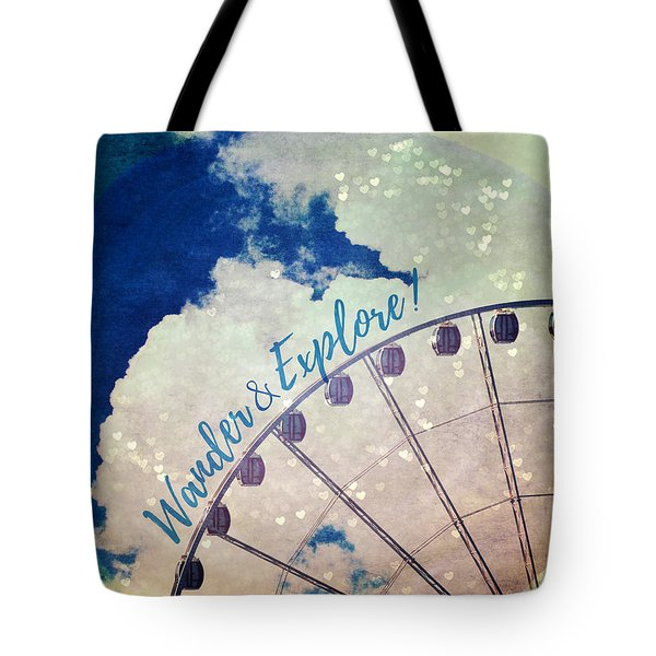 Wander And Explore Tote Bag