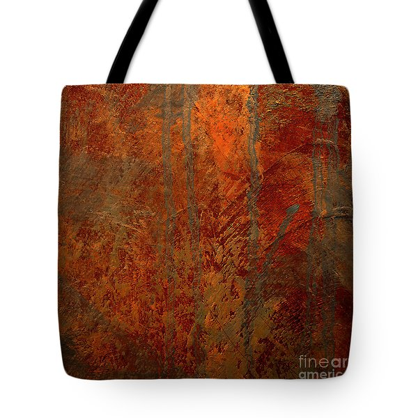 Tote Bag featuring the mixed media Wander by Michael Rock