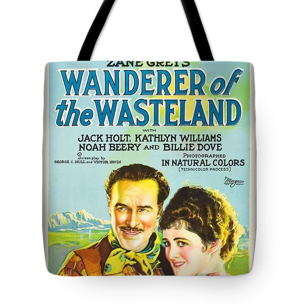 Wanderer Of The Wasteland 1924 Tote Bag