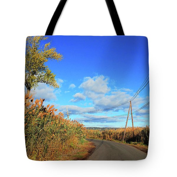 Wanderer's Way Tote Bag