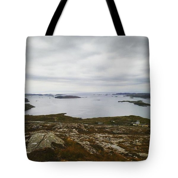 Scottish Coastline Tote Bag