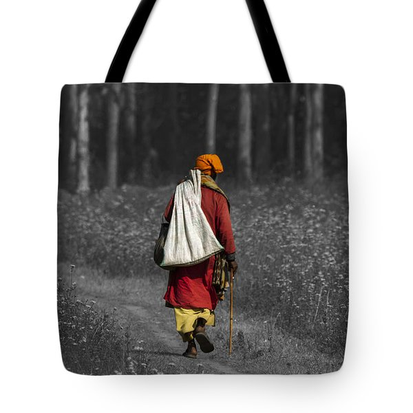 Wandering Holy Man Tote Bag