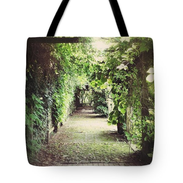 Tote Bag featuring the photograph Wandering by Karen Stahlros
