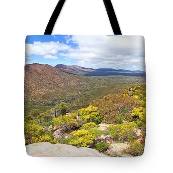 Tote Bag featuring the photograph Wangara Hill Flinders Ranges South Australia by Bill Robinson