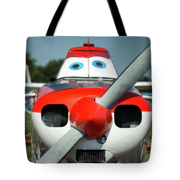 Tote Bag featuring the photograph Wanna Fly? by James Barber