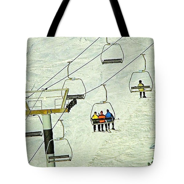 Wanna Lift Tote Bag