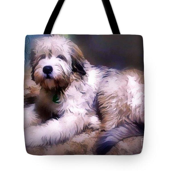 Want A Best Friend Tote Bag