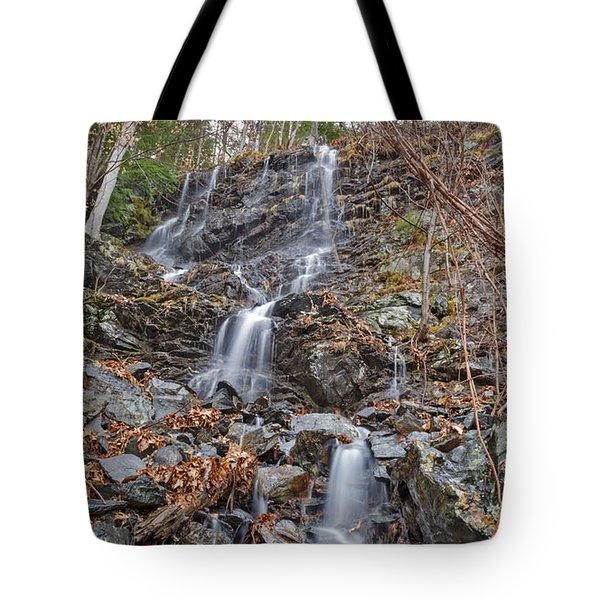 Wantastiquet Trail Falls Tote Bag