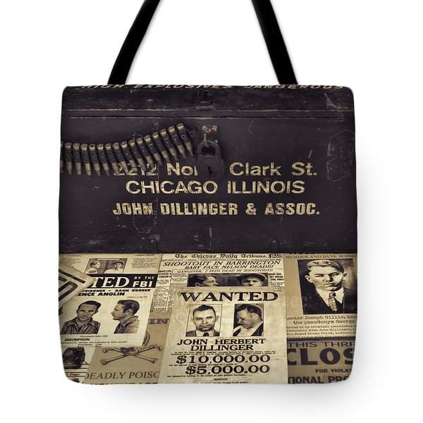 Wanted Tote Bag