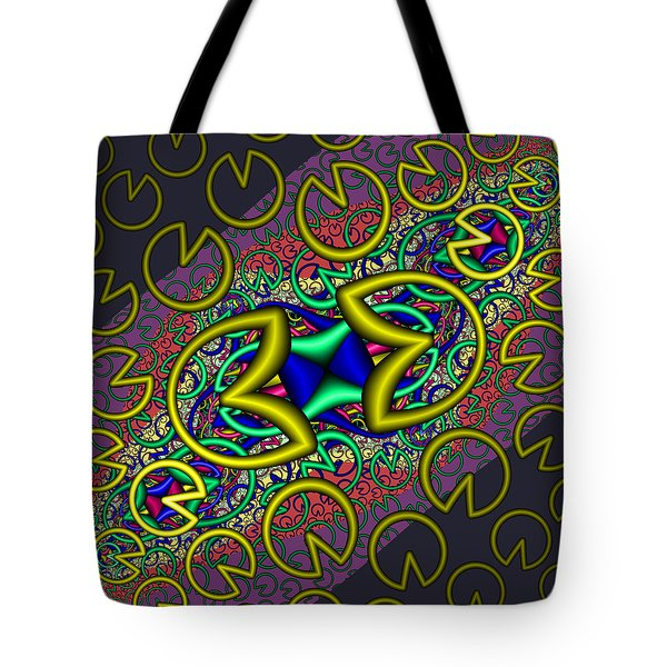 Tote Bag featuring the digital art Wantiontee by Andrew Kotlinski