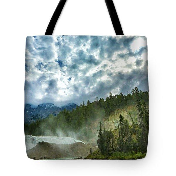 Wapta Falls 1 Tote Bag