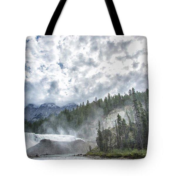 Wapta Falls 2 Tote Bag