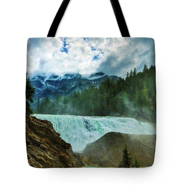 Wapta Falls 3 Tote Bag