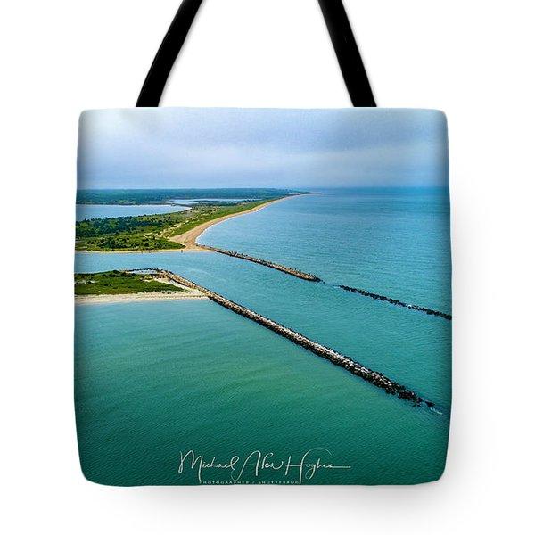 Waquiot Bay Breakwater Tote Bag