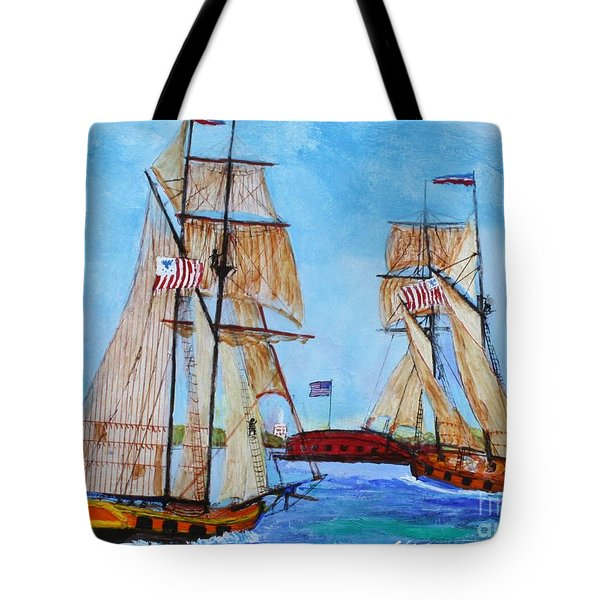 War Of 1812 In S.carolina Tote Bag