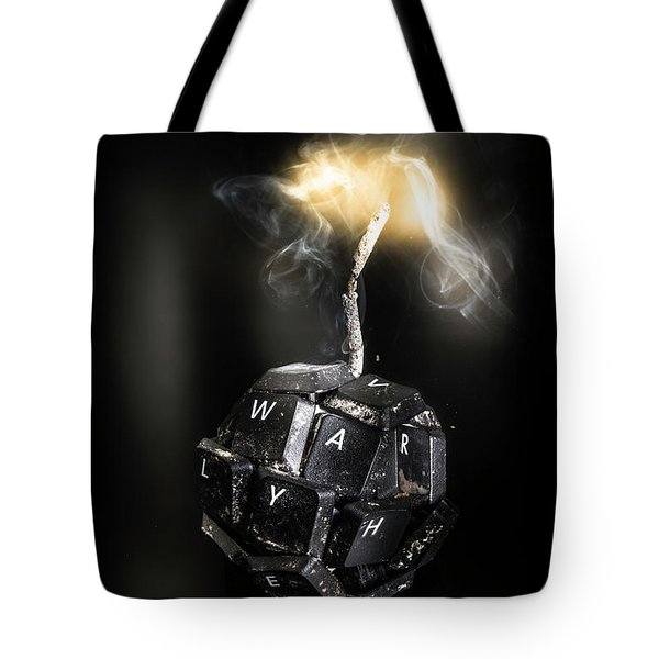 War On Information Tote Bag