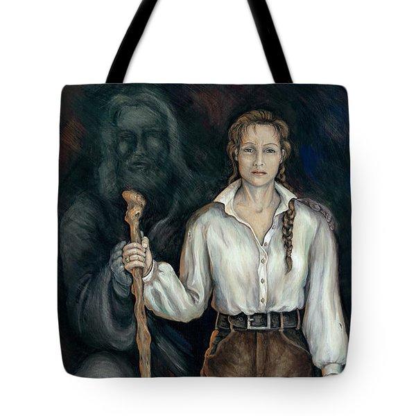 War Queen Of Turmoil Tote Bag