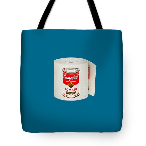 War Roll - Poop Art Tote Bag by Nicholas Ely