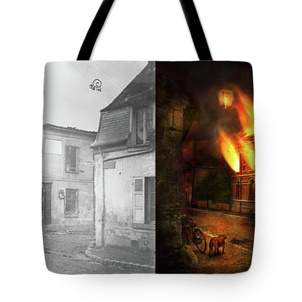 War - Wwi -  Not Fit For Man Or Beast 1910 - Side By Side Tote Bag by Mike Savad