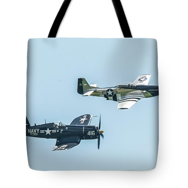 Warbirds Tote Bag