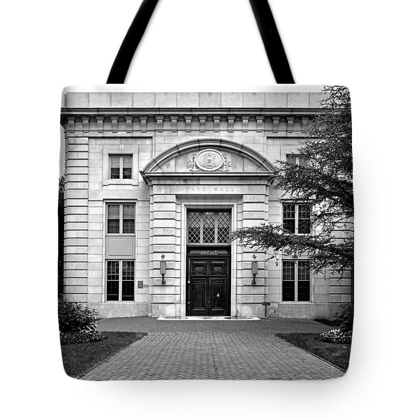 Ward Hall - United States Naval Academy Tote Bag by Brendan Reals