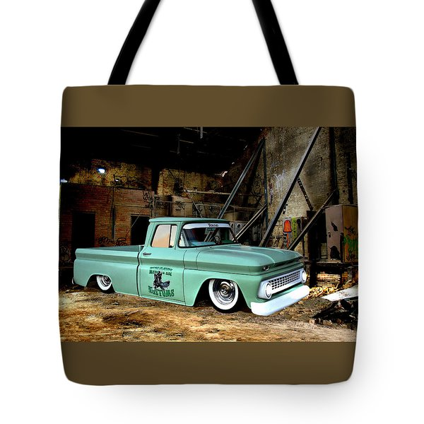 Warehouse Pickup Tote Bag by Steven Agius