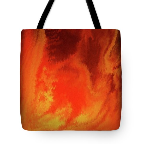Warm  Tote Bag