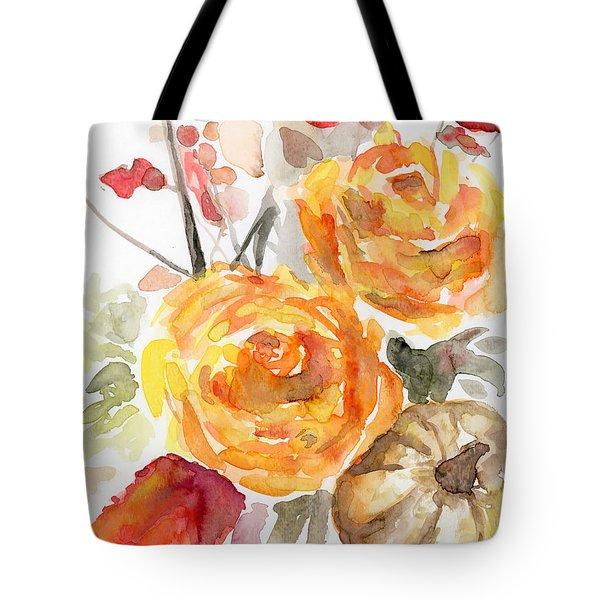 Warm Autumn Tote Bag by Arleana Holtzmann