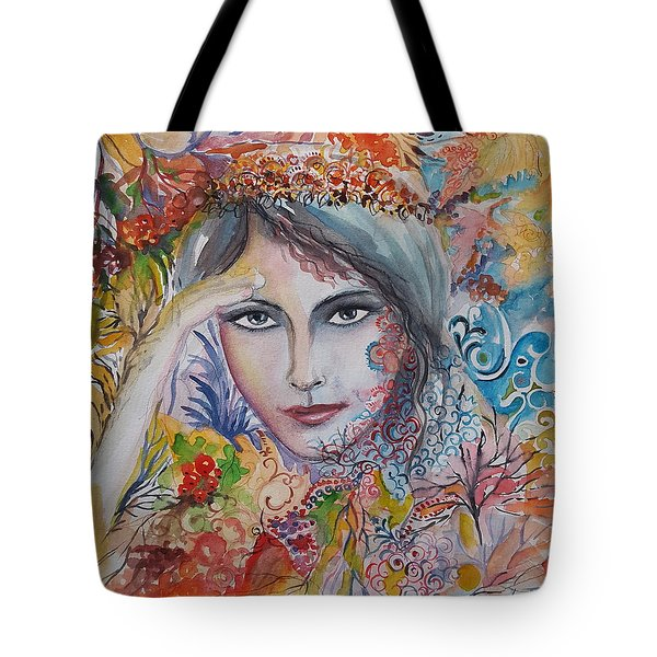 Warm Autumn Tote Bag by Rita Fetisov