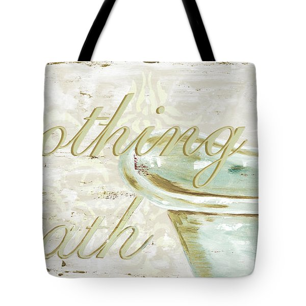 Warm Bath 1 Tote Bag