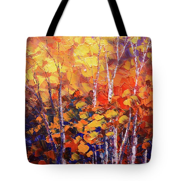 Warm Expressions Tote Bag
