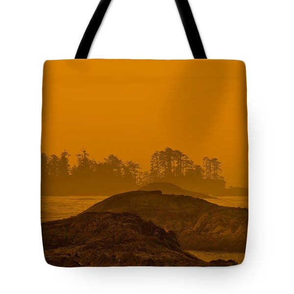 Warm Glow Tote Bag by CR  Courson